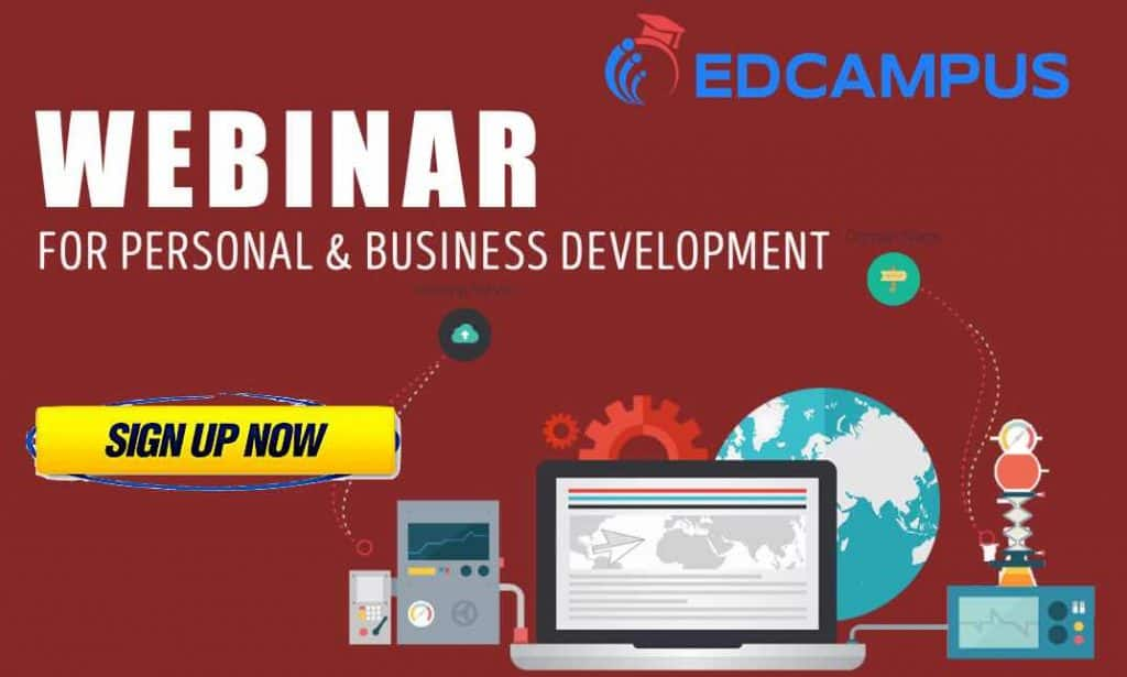 Use EDCampus for your personal and business growth