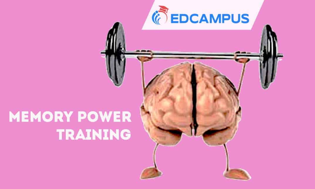 Memory Training for all especially for students